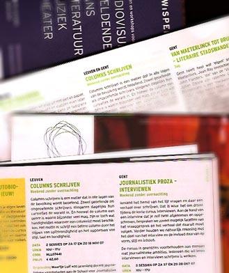 Cursussen voor Wisper in Leuven en Gent