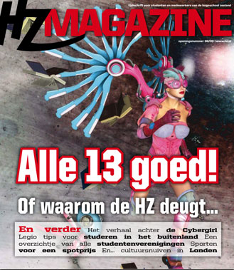 HZ Magazine: eindredactie en lay-out