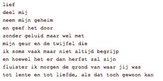 Een gedichtje in een keurslijf